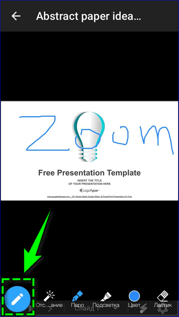 Инструменты Zoom