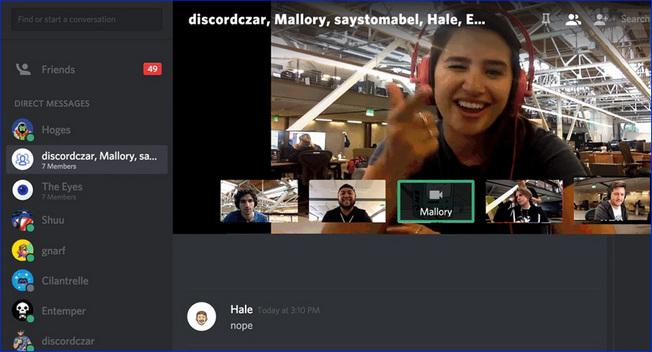 Онлайн конференция в Discord
