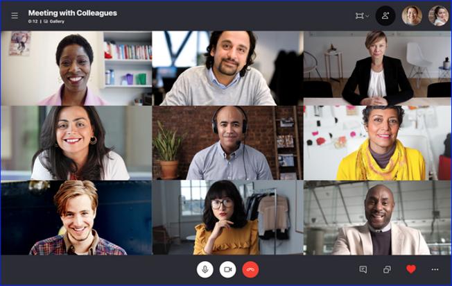 Онлайн конференция в Skype