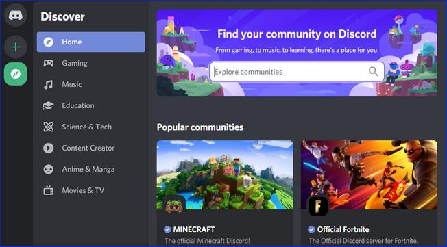 Сообщества в Discord по играм