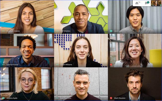 Видеоконференция в Google Meet